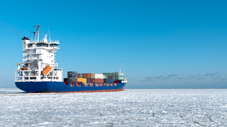 Data from satellite measurements helps identify ice conditions that are potentially dangerous for ships.