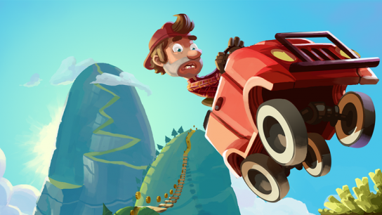 Fingersoft's Hill Climb Racing game has been downloaded more than 400 million times worldwide.