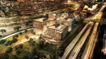 The new building will eventually house Banedanmark (the Danish railway authority), the Danish Transport Authority, the Danish Road Directorate and the Danish Energy Agency.