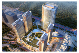 The Nanjing Kingfine Center is slated for completion in early 2017.