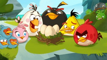 The new courses feature familiar faces from the Angry Birds Toons animated series.