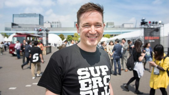 The main reasons for Finland's success were Supercell's games Clash of Clans and Hay Day. Pictured is Supercell's CEO Ilkka Paananen.