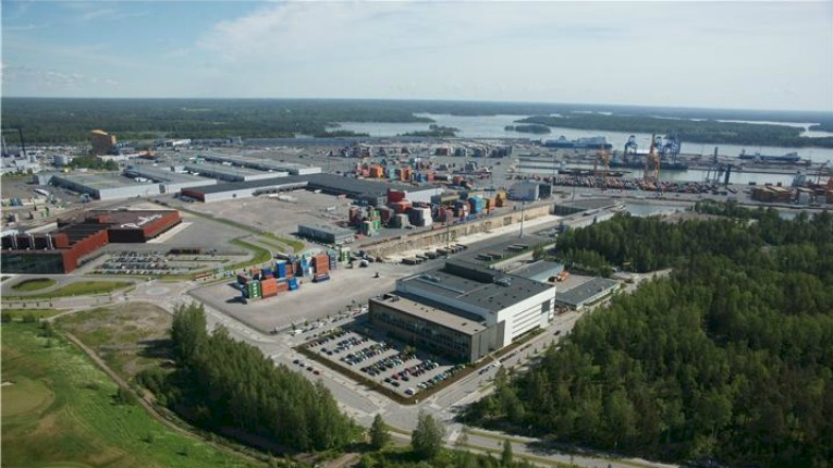 ABB Finland's Marine and Ports business unit is in charge of developing ABB's maritime solutions on a global scale. In Finland, it has production plants in Vuosaari in Helsinki (pictured) and Hamina.