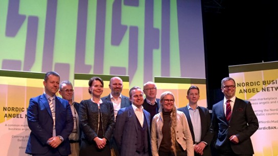 FiBAN along with other Nordic angel investment networks launch NordicBAN at Slush 2015.