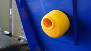 Enevo's smart sensors and advanced algorithms predict when waste bins need emptying.