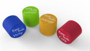 Limonade bottle caps are available in cola, orange, sparkling water and lemon. More flavours will be introduced to the markets at a later date, together with vitaminised drinks.