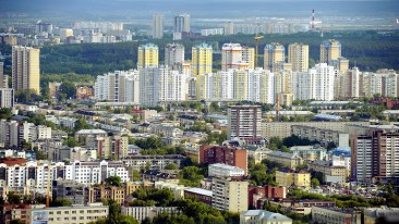 Yekaterinburg is one of the most densely populated major cities in Russia.