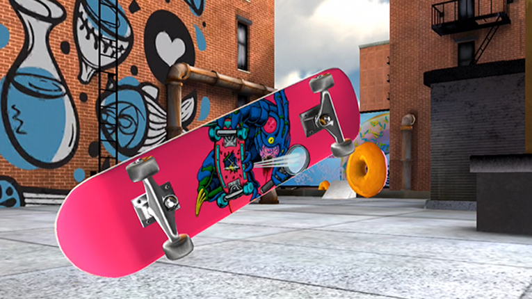 Arctic Play's first game, Hoodrip, was released last month in partnership with skateboarding companies Transworld Skateboarding and Skate Delux.