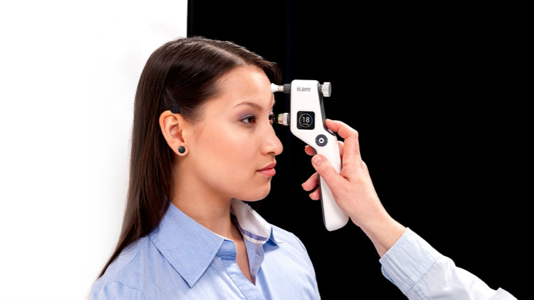 The device is to gradually replace the Icare TA01 tonometer.