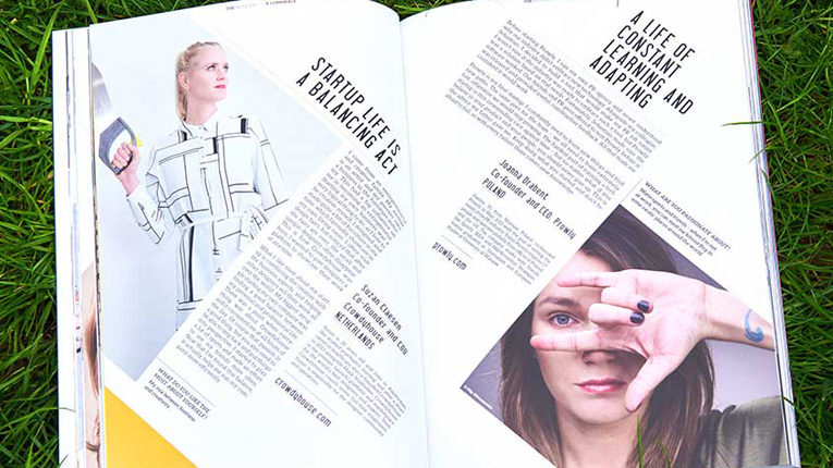 Berlin-based startup media The Hundert lists 100 female founders from 40 European countries in its eight volume. Among the featured founders are first-time and serial entrepreneurs, career changers, new mothers, failed business owners trying again, and more.