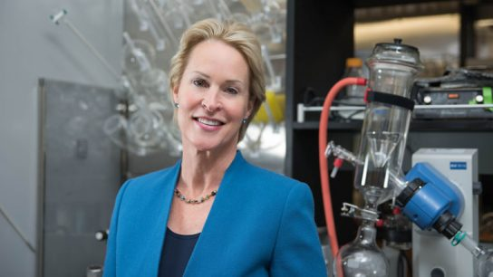 Frances Arnold, professor of chemical engineering, bioengineering and biochemistry, is the first woman to win The Millennium Technology Prize.