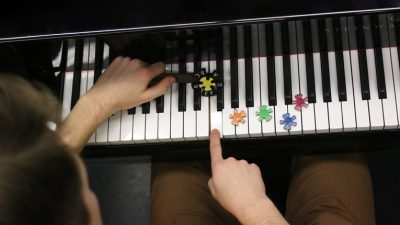 A unique piano scaler tool is also in the works: giving an abundance of info just by rolling it over the keys, the concept was recently patented in the US.