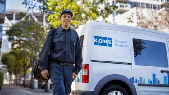 Kone was ranked as Finland's second biggest public company.