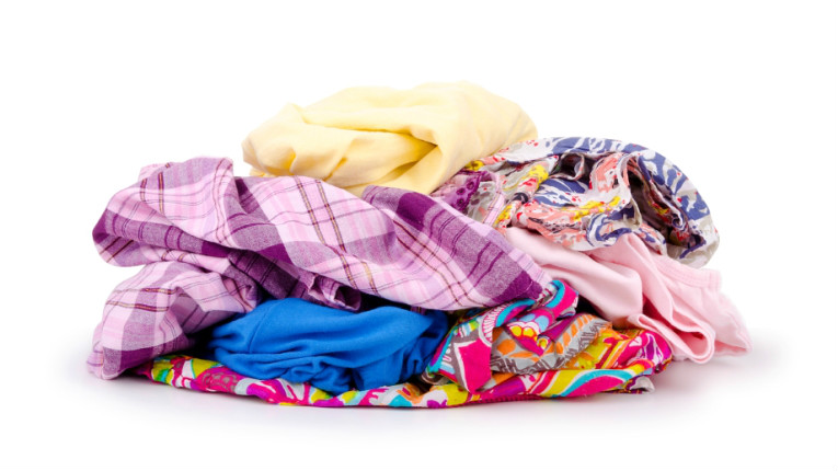 Some three million tonnes of textiles are thrown away in the EU annually.
