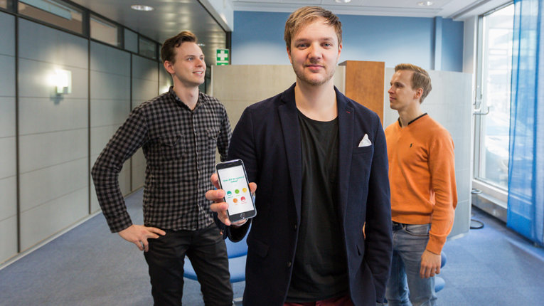 The founders of Feedbackly, Joonas Hamunen, Jaakko Männistö and Joonatan Voltti, met while studying at the same university. Now the trio is preparing to launch a cloud-based customer feedback platform for global markets.
