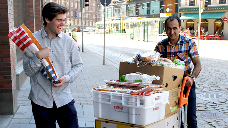 Finnish startup Froodly is fighting food waste in supermarkets by enabling people to report foods close to their sell-by date which would otherwise end up in the bin.