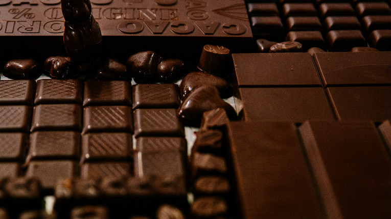 Goodio's chocolate involves plenty of handiwork. The company does everything itself, from grinding the cacao beans to packing the final product.