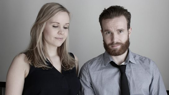 Linus Weckström (right) teamed up with his sister Linda (left) to become Finland's pioneering premium beard oil producers.