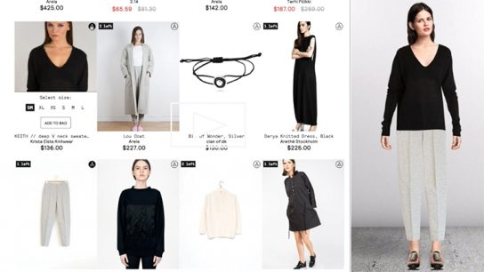 Finnish startup Stylewhile turns a simple webstore into an interactive shopping experience.