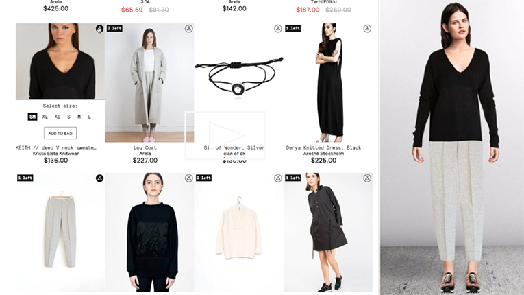55b88689d6 Finnish startup Stylewhile turns a simple webstore into an interactive  shopping experience.