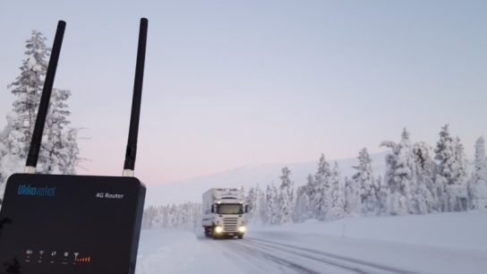 Ukkoverkot's mobile data network is the fastest local fixed wireless Internet connection in Finland, covering 99.9 per cent of the population living on the Finnish mainland.