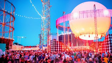 Helsinki-based urban music and arts festival Flow Festival is completely carbon neutral event.