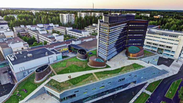 The new Huawei R&D centre is situated at the Tampere University of Technology campus.