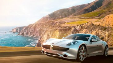 The innovative luxury vehicle Karma Revero contains a digital cockpit created using Rightware's Kanzi user interface software.