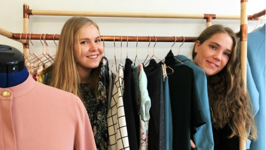 The sisters behind Named Clothing, Saara and Laura Huhta, host their own office and showroom in Alppila, near central Helsinki.