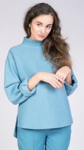 Talvikki sweater is part of Named Clothing's winter collection Evolution Theory.