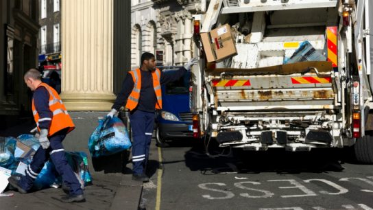 The intelligent street litter bins seek to improve street scene services in the UK.