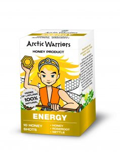 Aside from honey shot, all of Arctic Warriors' products are dairy-free, gluten-free and vegan-friendly.