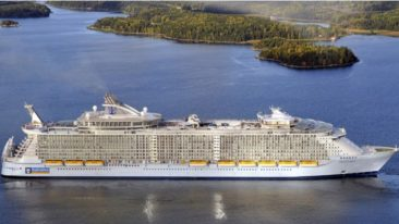 Meyer Turku will begin testing fuel cell technology on an existing Oasis-class ship in 2017