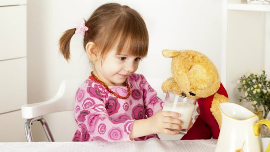 According to Valio, children's food product sales grow slowly, because parents don't easily change from one brand to another.