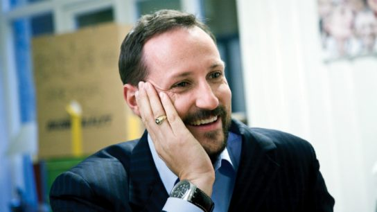 Crown Prince Haakon is interested in the Nordic startup scene and supporting the objective of Slush.