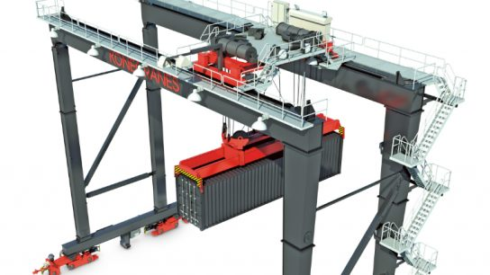 Konecranes will deliver 86 Automated Stacking Cranes to the Virginia Port Authority.