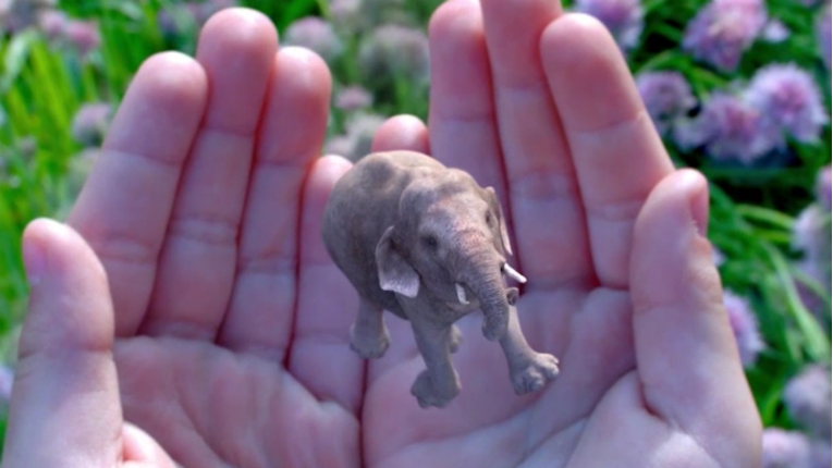 "According to Magic Leap's website, the company has decided to ""rethink the relationship technology has with people"", and on the side it makes elephants appear in unexpected places."