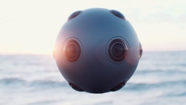 """According to Sony Pictures' Scot Barbour, Ozo is """"an excellent solution for content creators because they seamlessly integrate into established production processes andworkflows, and enable the real time capture and broadcast of VR content."""""""
