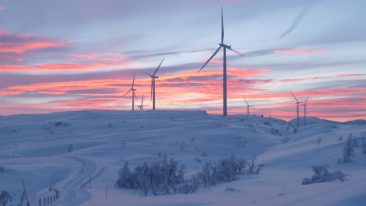 Nygårdsfjellet wind farm is already operational.
