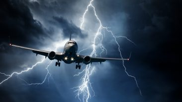Thunderstorms and lightning can be dangerous during take-offs and landings, posing a risk for ground crews and cause flight delays.