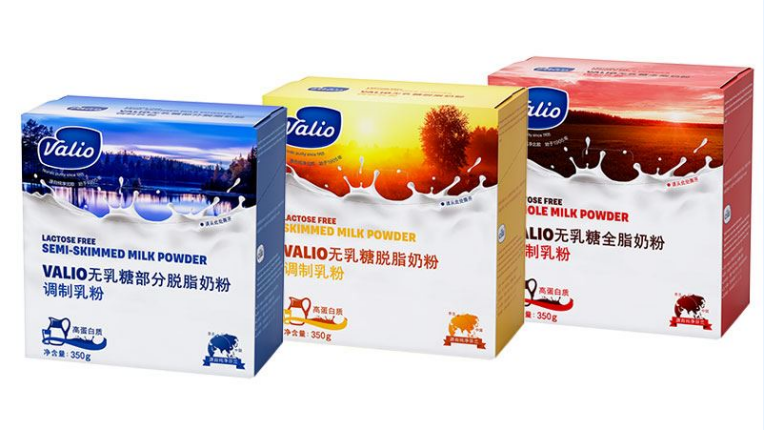 Valio is providing Chinese consumers with three lactose-free milk powder options: skimmed, semi-skimmed and whole milk powders.