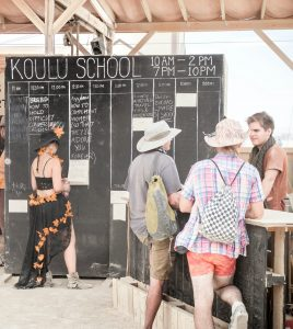 The next step for Koulu on Fire is to take its peer-teaching method to refugee camps.