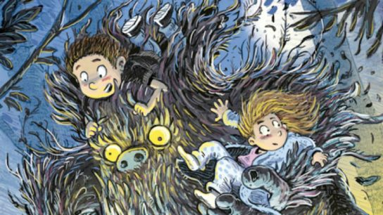 Monster Nanny comes to look after the children when their mother wins a vacation.