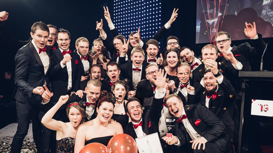 Vincit believes that employees who work hard and enjoy what they do are key to success. The company has been chosen three times as the 'Best Place to Work in Finland' and this year also as the 'Best Place to Work in Europe'.