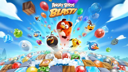 "According to Rovio, Angry Birds Blast has ""effortless tap-to-clear game mechanics, action-packed cascading gameplay, fun social features and tons of challenging puzzles""."