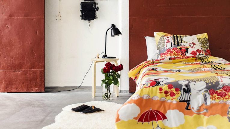 Finlayson is one of the most loved home design textile producer in Finland.