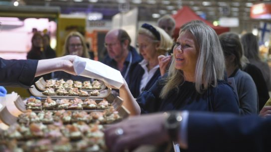 Rye bread, anyone? The dark and healthy delicacy was announced as the national food of Finland at the Travel Fair on Thursday.