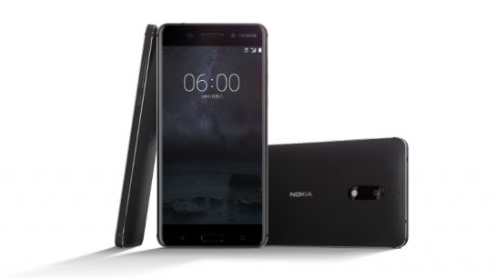 HMD Global's new Nokia 6 pictured above. The company will release further products in the first half of this year.
