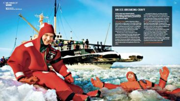 Finland magazine goes hot and cold