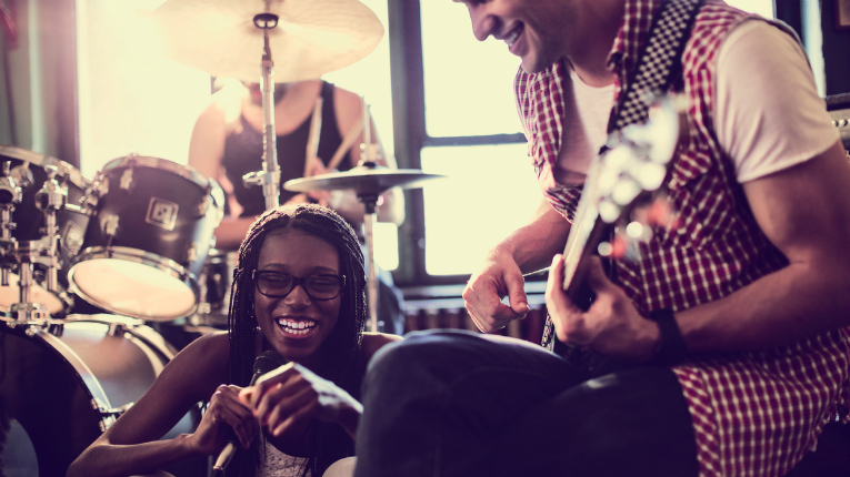 Not all bands can be the best in the world, but CloudBounce helps bring the dream closer for amateur musicians.